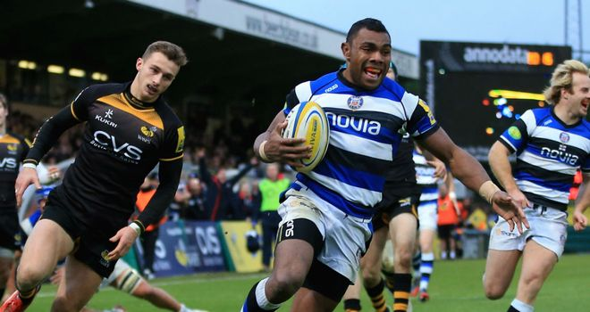 Semesa Rokoduguni: Saxons chance for Bath winger