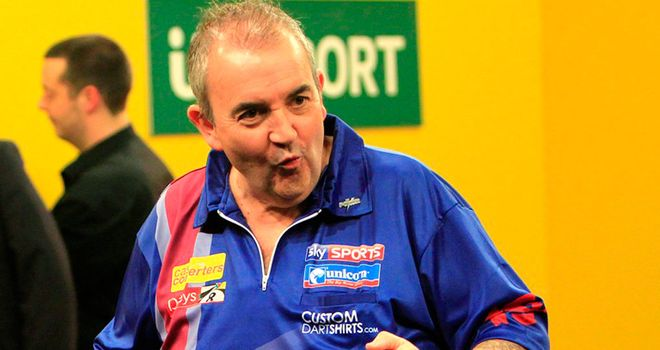 Phil Taylor beats Paul Nicholson again