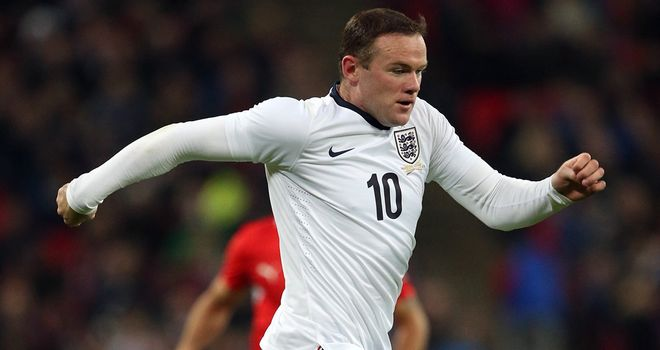 Wayne Rooney: Has 38 England goals to his name
