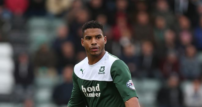 Reuben Reid - Two goals for Plymouth at Oxford
