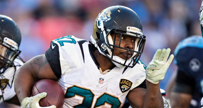 Maurice Jones-Drew: Helped the Jacksonville Jaguars defeat the Tennessee Titans on Sunday