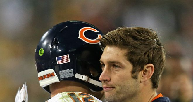 Jay Cutler has made a quick return from injury with Josh McCown playing well