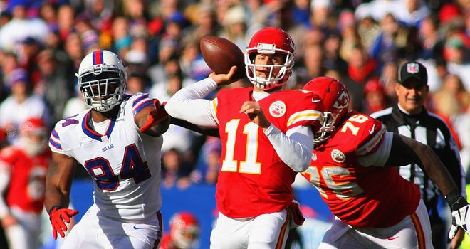 Alex Smith: Earned a new deal with the Kansas City Chiefs
