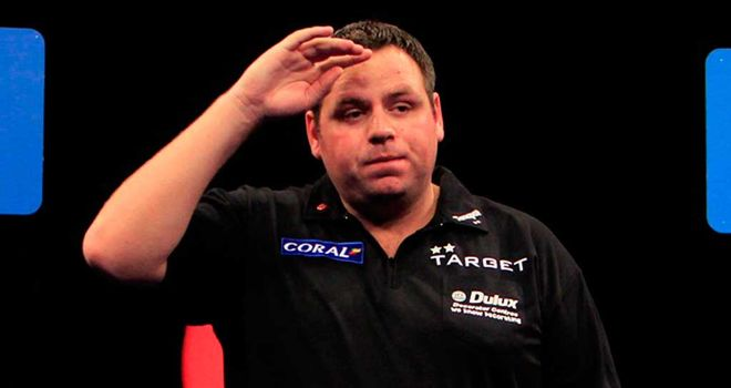 Adrian Lewis: Looking for a third title in four years