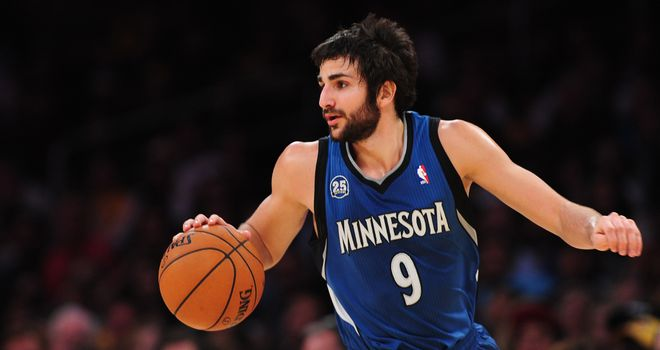 Ricky Rubio: Collected 12 points, 14 assists and 10 rebounds