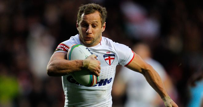 Rob Burrow: Lost to New Zealand at the 2008 Rugby League World Cup