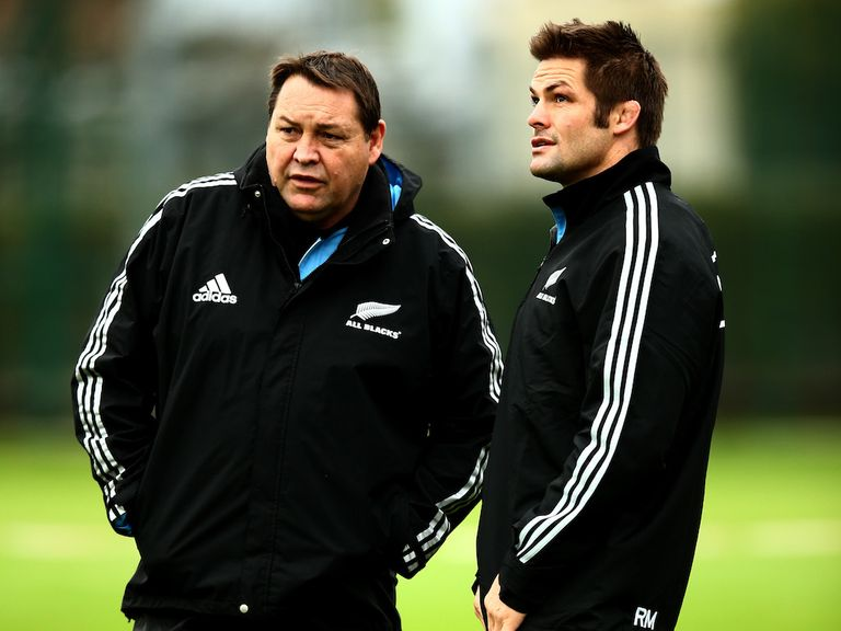 Steve Hansen and Richie McCaw plot England's downfall