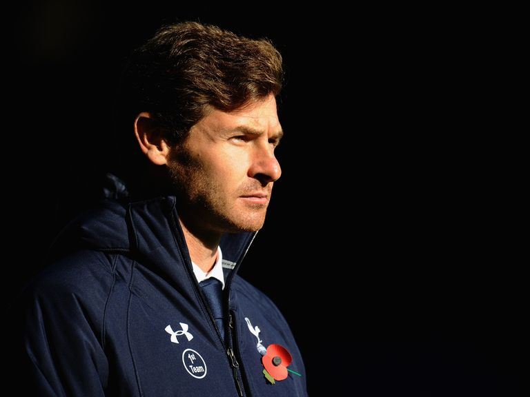 Andre Villas-Boas: Sacked by Spurs earlier this month