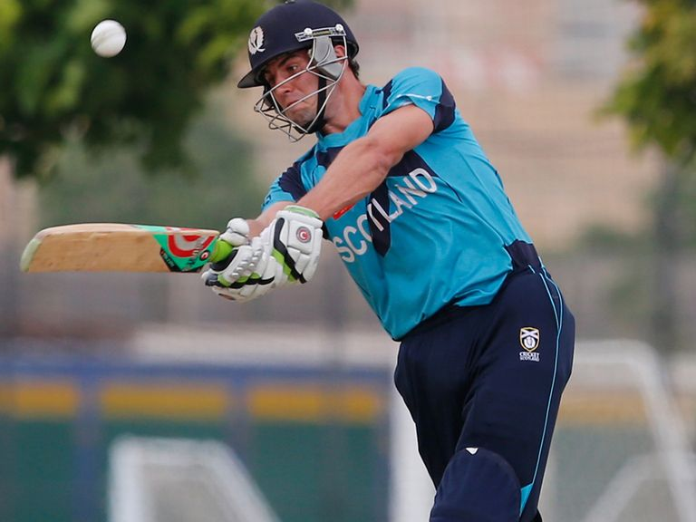 Calum MacLeod: Hit century in Scotland win