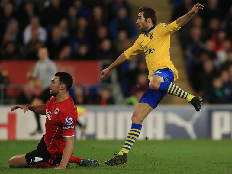 Mathieu Flamini: Hopes to keep momentum going
