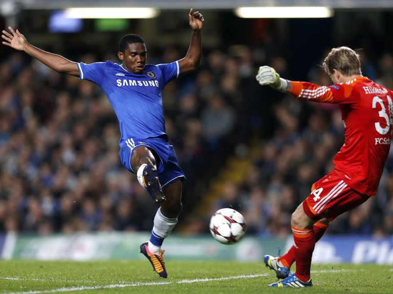 Samuel Eto'o: Two Premier League goals this season