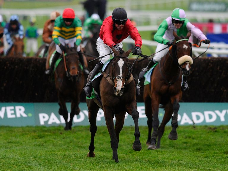 Hidden Cyclone (right): Can get the better of Sire De Grugy