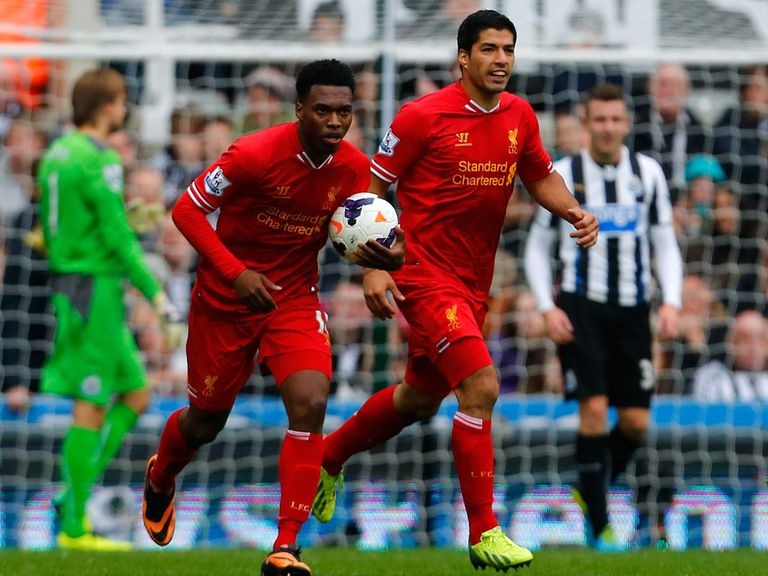 Daniel Sturridge and Luis Suarez have been prolific this season