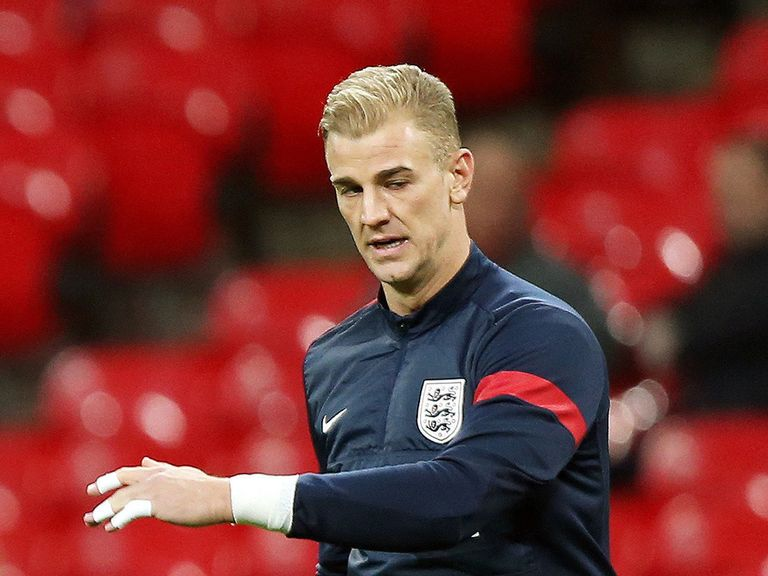 Joe Hart: Will start in goal against Germany