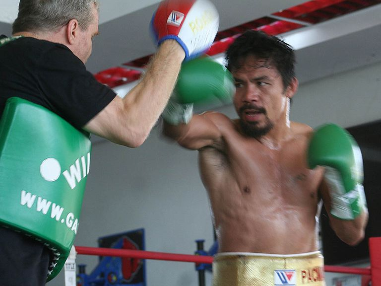 Manny Pacquiao has impressed in training camp