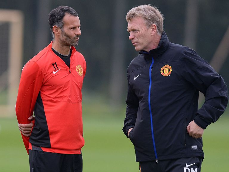 Ryan Giggs: Wants a reaction after Everton defeat