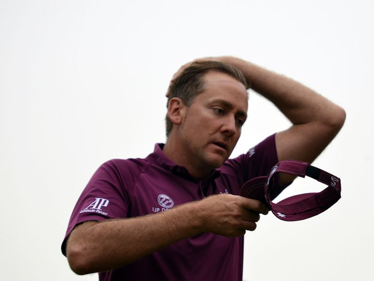 Ian Poulter: Can make a big push for the title on Sunday