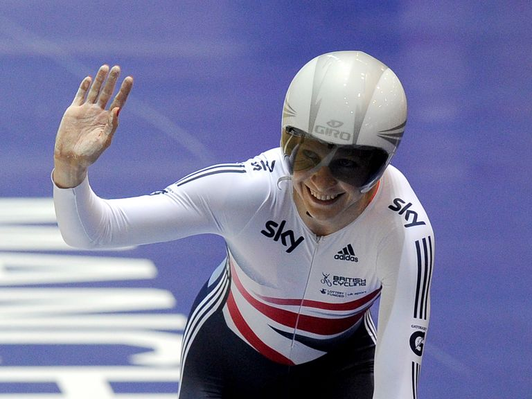 Joanna Rowsell won the individual pursuit