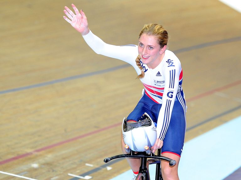 Laura Trott: Struck gold in Manchester