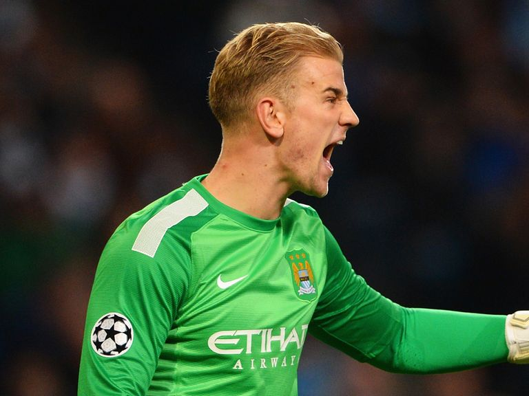 Joe Hart: Played against Bayern Munich on Tuesday