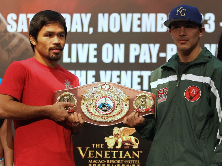 Pacquiao and Rios will clash on Saturday night