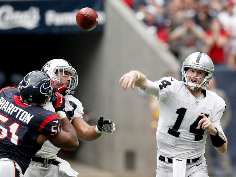 Matt McGloin in action during Sunday's victory