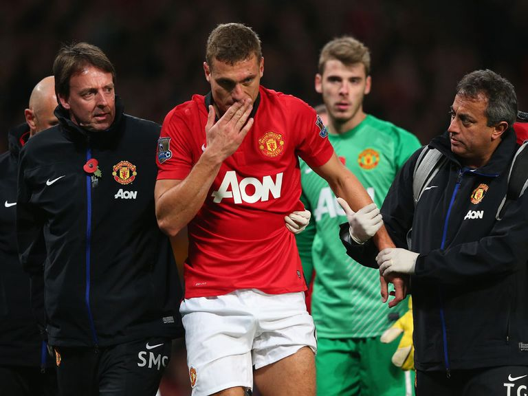 Vidic: Ready for a return after injury