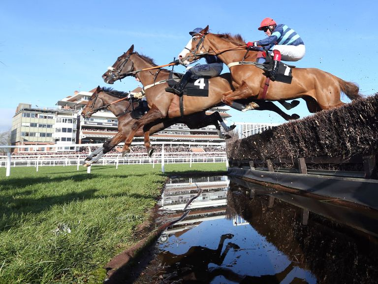 Newbury: Hopeful of beating the weather