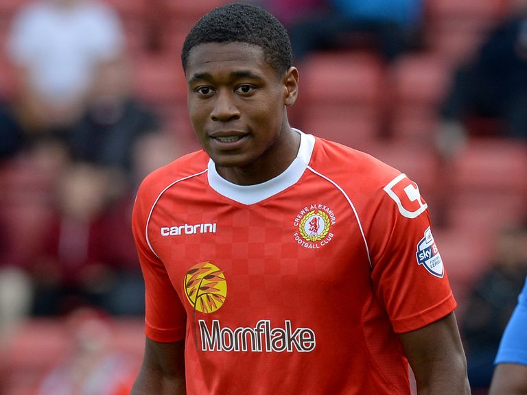 Chuks Aneke: Opened the scoring for Crewe