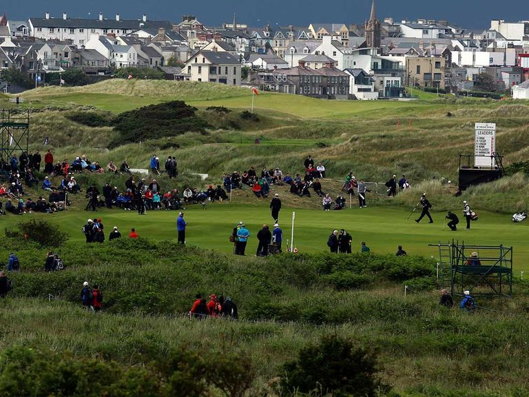 Royal Portrush: Staged the Open Championship in 1951
