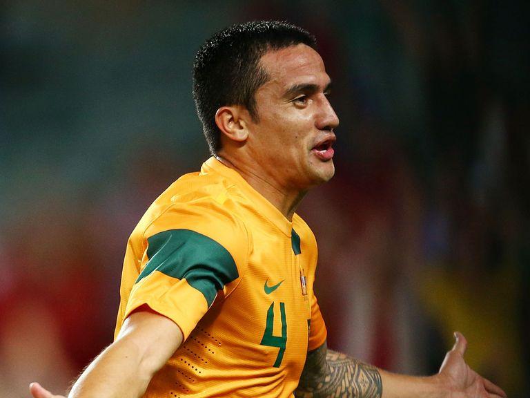 Tim Cahill: Part of Australia's squad