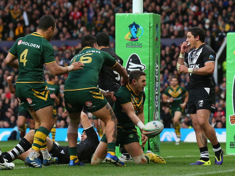Old Trafford drew a record international rugby league attendance