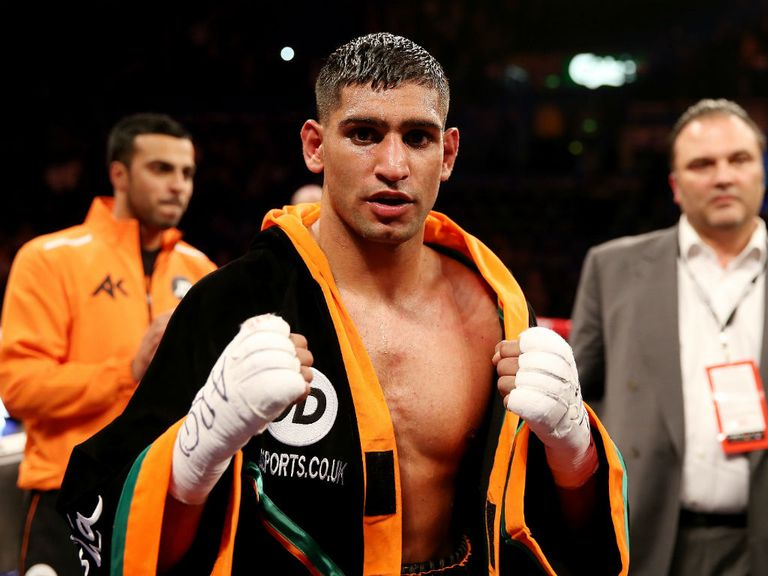 Amir Khan: Hinted at May return