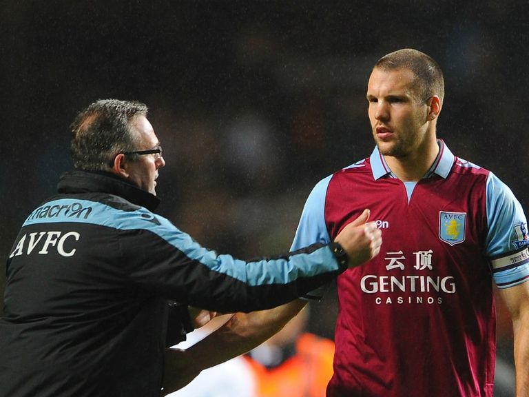 Ron Vlaar could sign a new deal at Villa