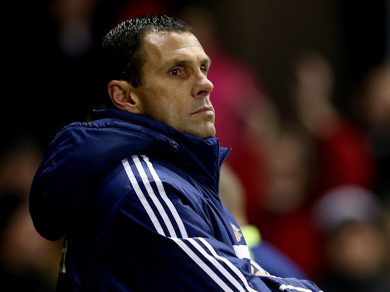 Gus Poyet: Criticised his players performances