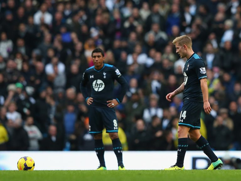 Tottenham: Looking to bounce back from thrashing at Man City