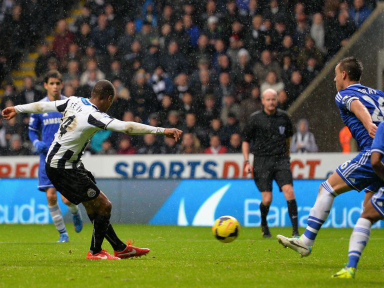 Loic Remy can find the net twice for Newcastle
