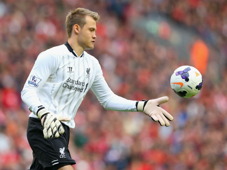 The bookies expect Simon Mignolet to be kept busy on Sunday