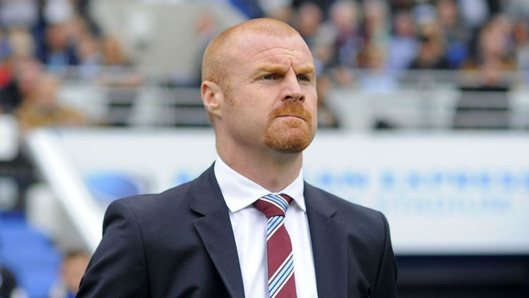 Sean Dyche: Has Burnley perched at the top of the Championship standings