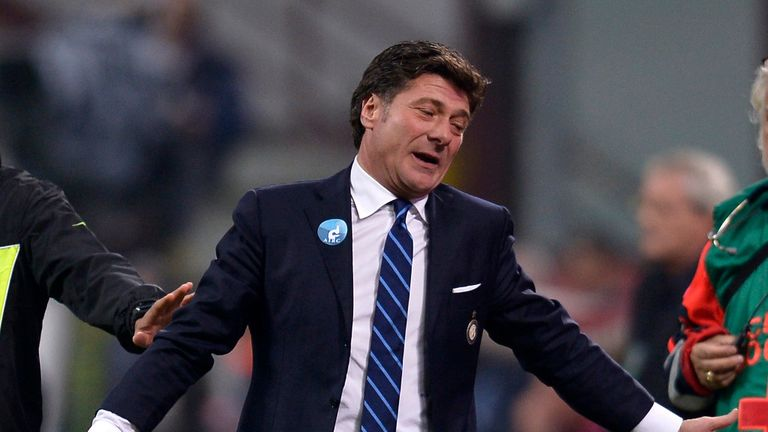 Walter Mazzarri: Delighted with victory