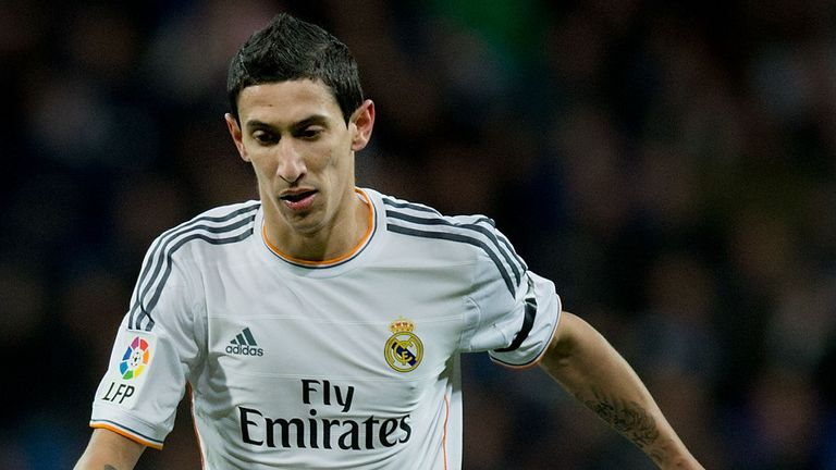 Angel Di Maria: Rejected rumours linking with a move away from Real Madrid
