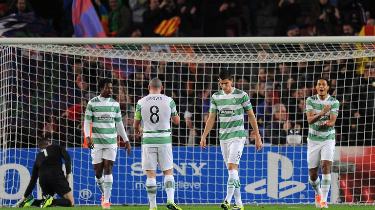 Celtic were outfoxed by Barcelona at the Camp Nou