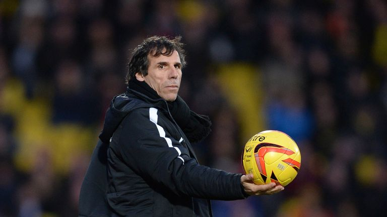 Fleeing the Hornets' nest: Zola has quit his job as Watford manager