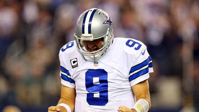 Tony Romo: injured during the comeback win at Washington