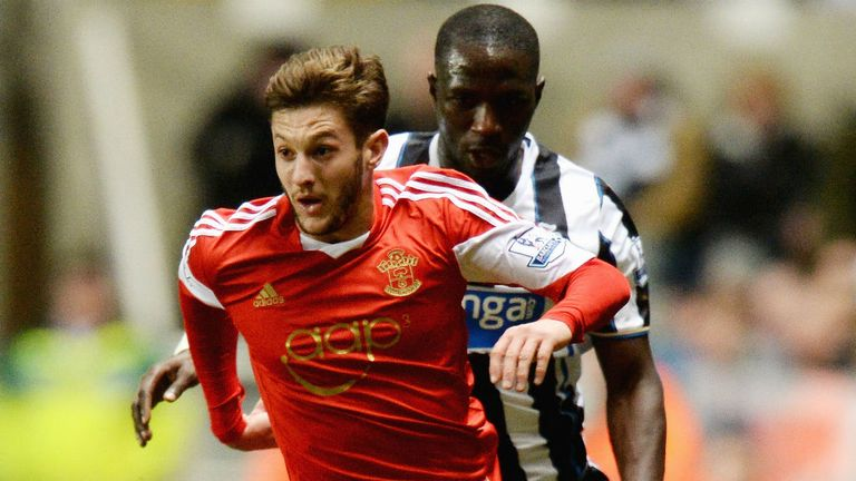Adam Lallana: Impressed after stepping off the bench at St James' Park
