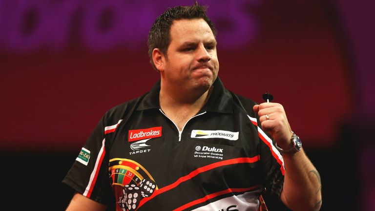 Adrian Lewis: Threatened another whitewash of Phil Taylor