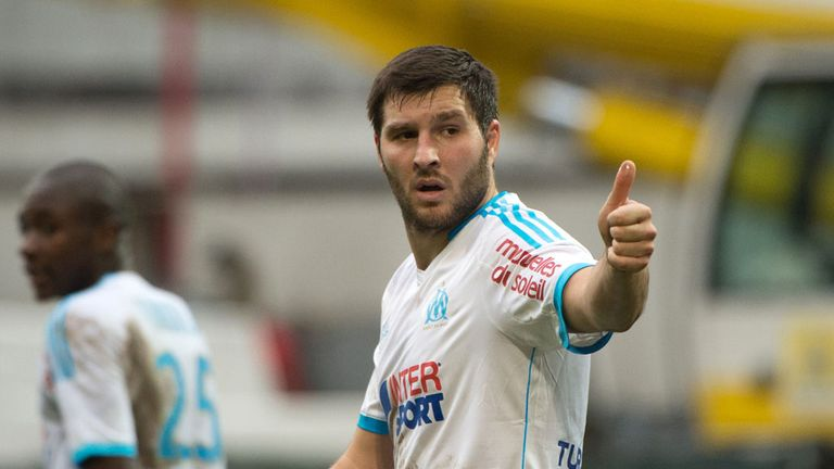 Andre Pierre Gignac scored one of Marseille's goals