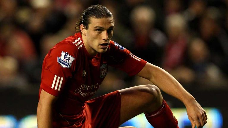 Andy Carroll: Failed to make an impact at Liverpool