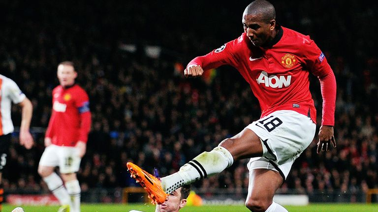 Ashley Young: Was back in the starting line-up on Tuesday night