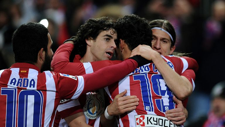 Atletico Madrid: Could move above Barcelona to go top in Spain
